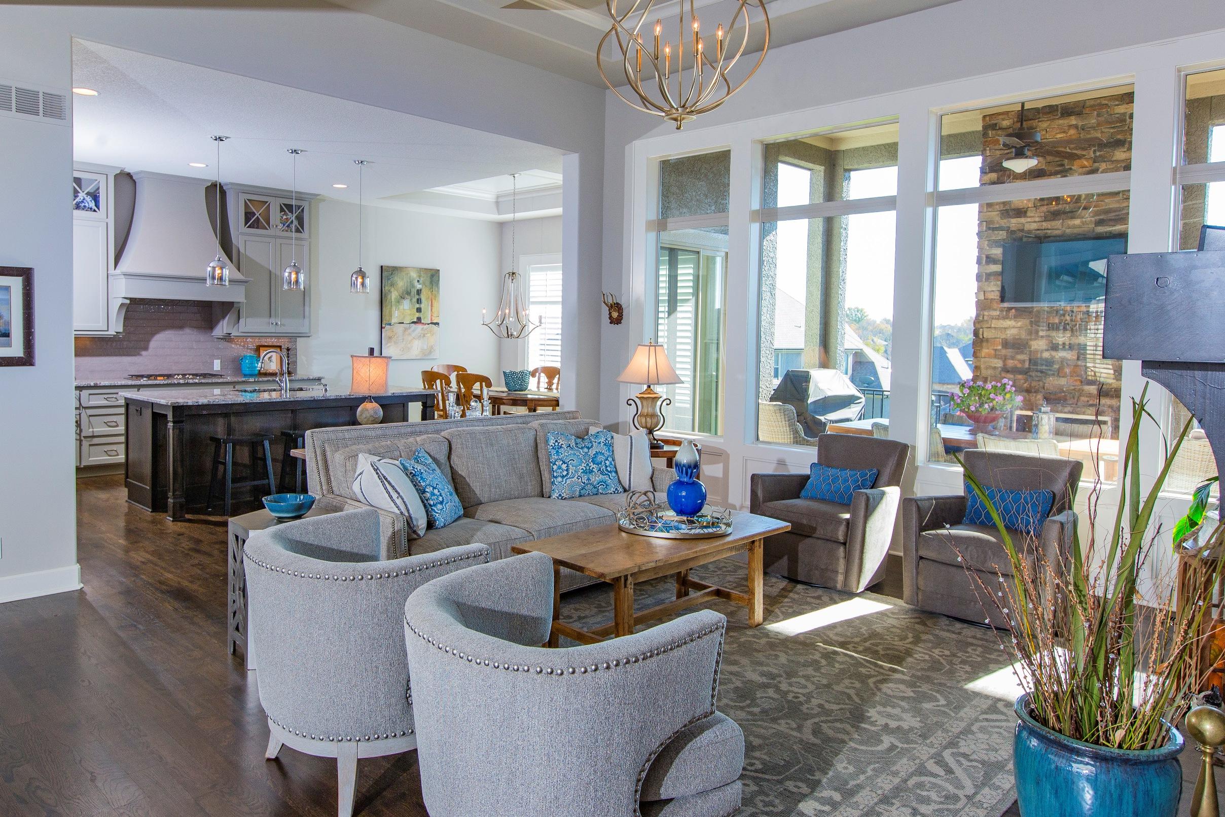 long shot of kitchen from living area shrunk   KAREN MILLS