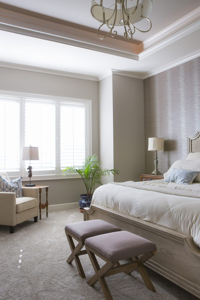 Master bedroom retreat example