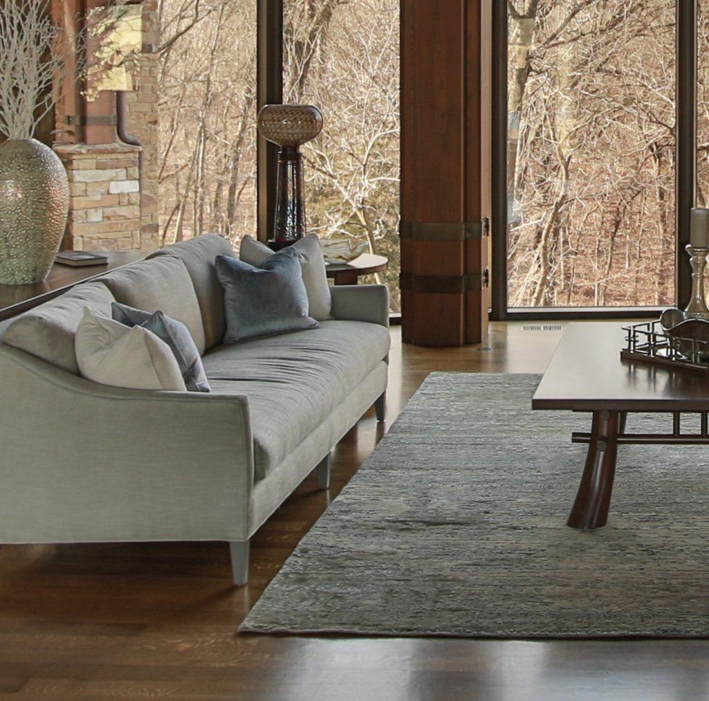 Karen Mills' rug sizing example